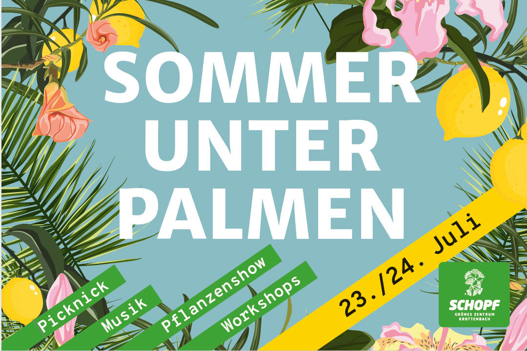 Sommer unter Palmen